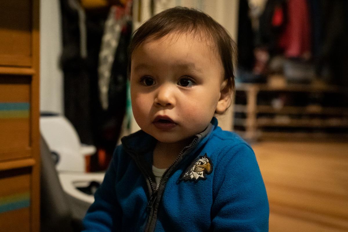 Portrait kleiner Junge.