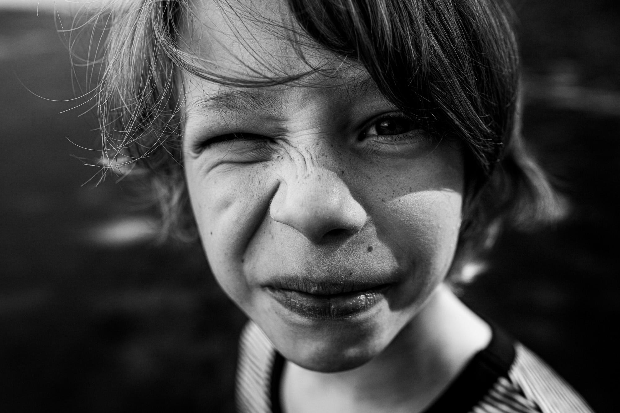 Kinderportrait Junge.
